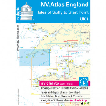 UK1 NV ATLAS ENGLAND (Isles of Scilly to Start Point)