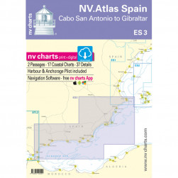 ES 3 NV ATLAS SPAIN (Cabo San Antonio to Gibraltar)