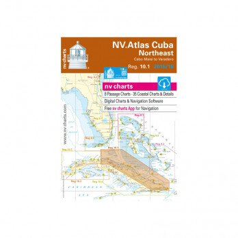 REG 10.1 NV ATLAS CUBA NORTHEAST (Cabo Maisi to Varadero)