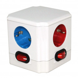 Cube multiprise Couleur