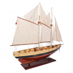 Maquette d'exposition Bluenose II