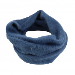 Snood douceur - bleu