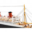 Maquette d'exposition Queen Mary
